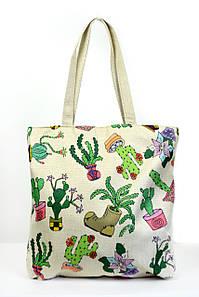 Пляжная сумка Коломбо кремовая