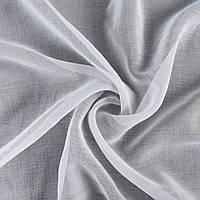 Лен льняная ткань (льняная ткань) французский белый, ш.300