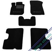 Двухслойные коврики Sotra Custom Classic 7mm Black для Renault Logan (mkII) 2013->