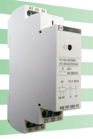 Реле модульне проміжне Промфактор РМ ПР АС220В