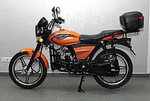 Мотоцикл SPARK SP125С-2X, 127 куб.см, двухместный дорожный БЕСПЛАТНАЯ ДОСТАВКА!, фото 3