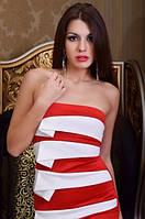 Платье с открытыми плечами 1101, фото 1