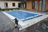 Солярная пленка 500 микрон для наружного бассейна, Франция