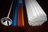 Пластиковые трубки для флажков и шариков