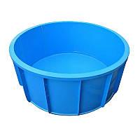 Купель круглая для бань и сауны 2,5м*1,5м
