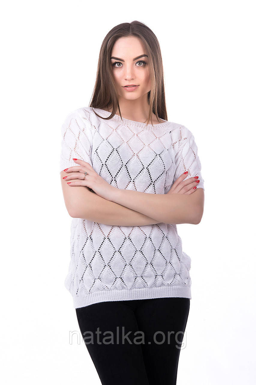 Блуза ажурная Анита