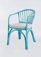 Кресло из ротанга Нью Париж (бирюзовое)