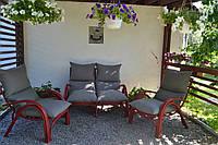 Комплект мебели из ротанга Венеция (4 мягких кресла)