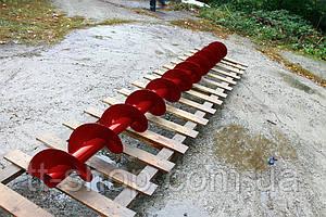 Шнеки Ø 90 мм, для трубы Ø 108 мм, лопасть 2 мм