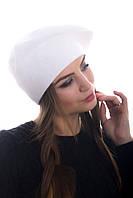 Берет женский вязаный Наталка 0043Н белый