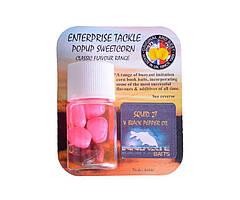 Ароматизированные насадки Enterprise Tackle Squid 2T Corn Fluoro Pink