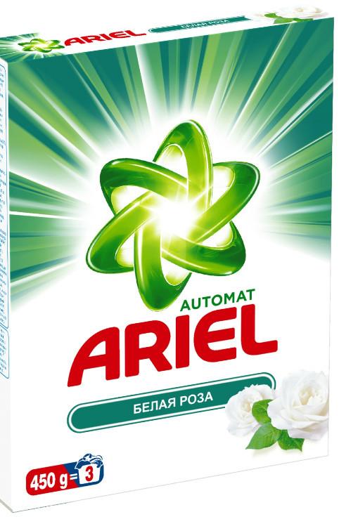 Порошок для автоматической стирки ARIEL для белого белья (450 г)