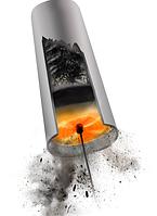 Роторный набор для чистки дымохода Hansa Tornado – профессиональный уход за дровяным оборудованием