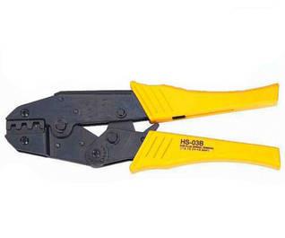 Опрессовочный инструмент для разрезных наконечников