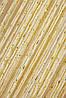 Кисея шторы-нити Дождь шампань с золотом (13з)