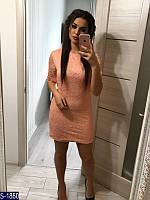 Платье S-1880 (48-50, 50-52) — купить Платья XL+ оптом и в розницу в одессе 7км