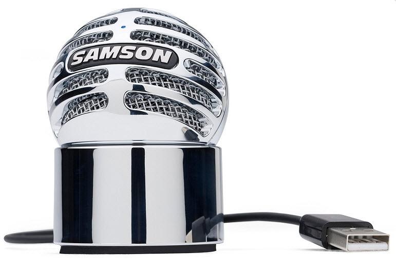 Компактный USB конденсаторный микрофон SAMSON METEORITE