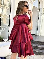 Платье S-1917 (42-46) — купить Платья оптом и в розницу в одессе 7км