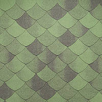 Битумная черепица Тегола Премиум Версаль Зеленый Смеральдо