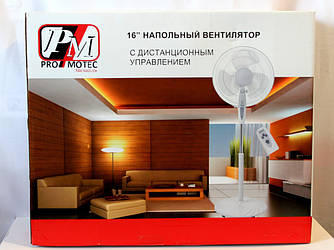 Table Fan PM 1609R ProMotec