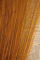 Нитяные шторы кисея Дождь золото (16)