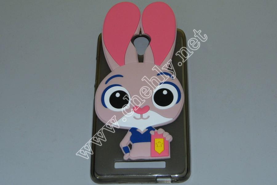 Силиконовый 3D чехол Кролик Джуди Хопс Зверополис Xiaomi Redmi Note 2 – Redmi Note 2 Prime – Redmi Note 2 Pro