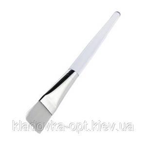 Кисть для нанесения масок с прозрачной ручкой