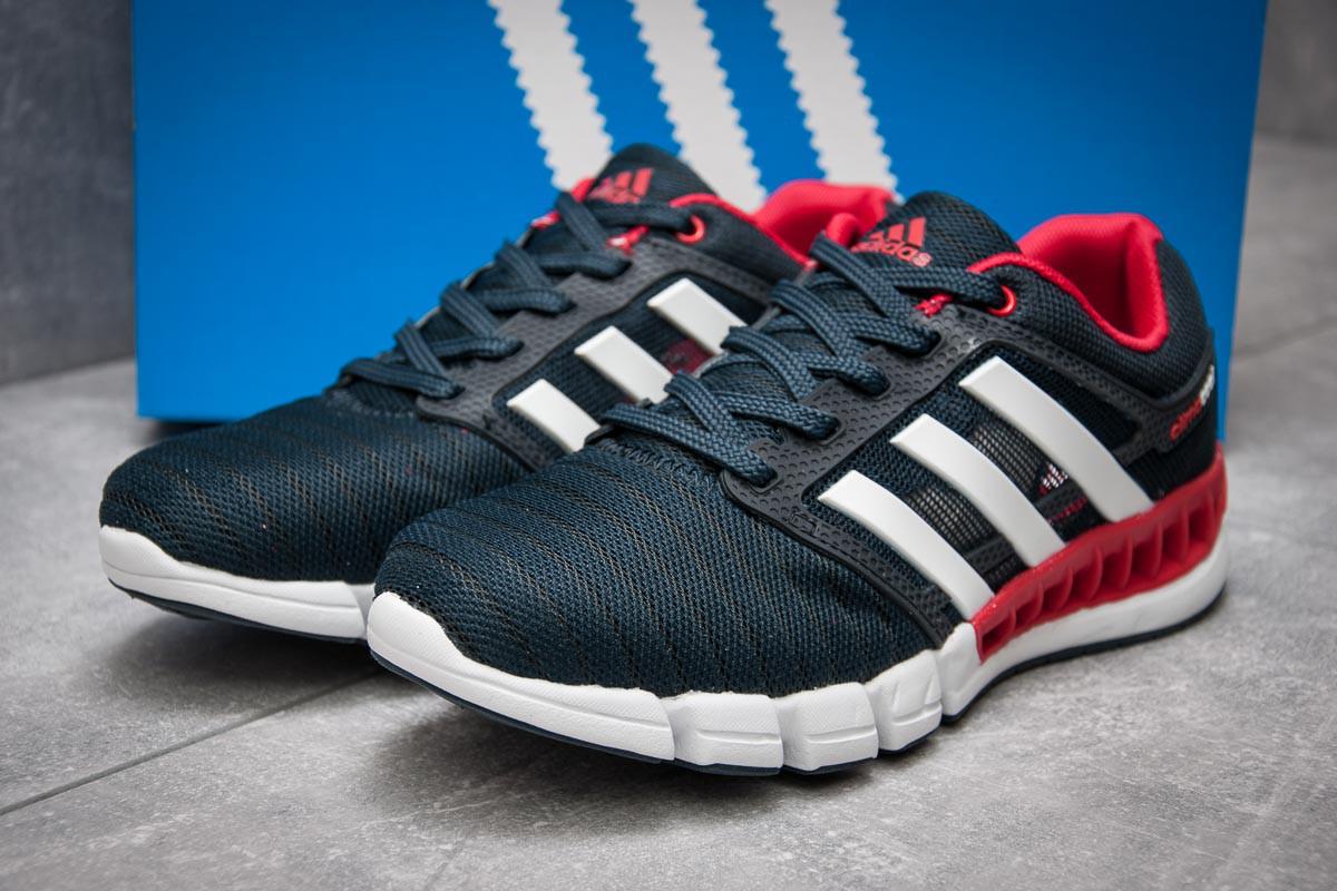 Кроссовки мужские в стиле Adidas Climacool, темно-синий (13084),  [  4