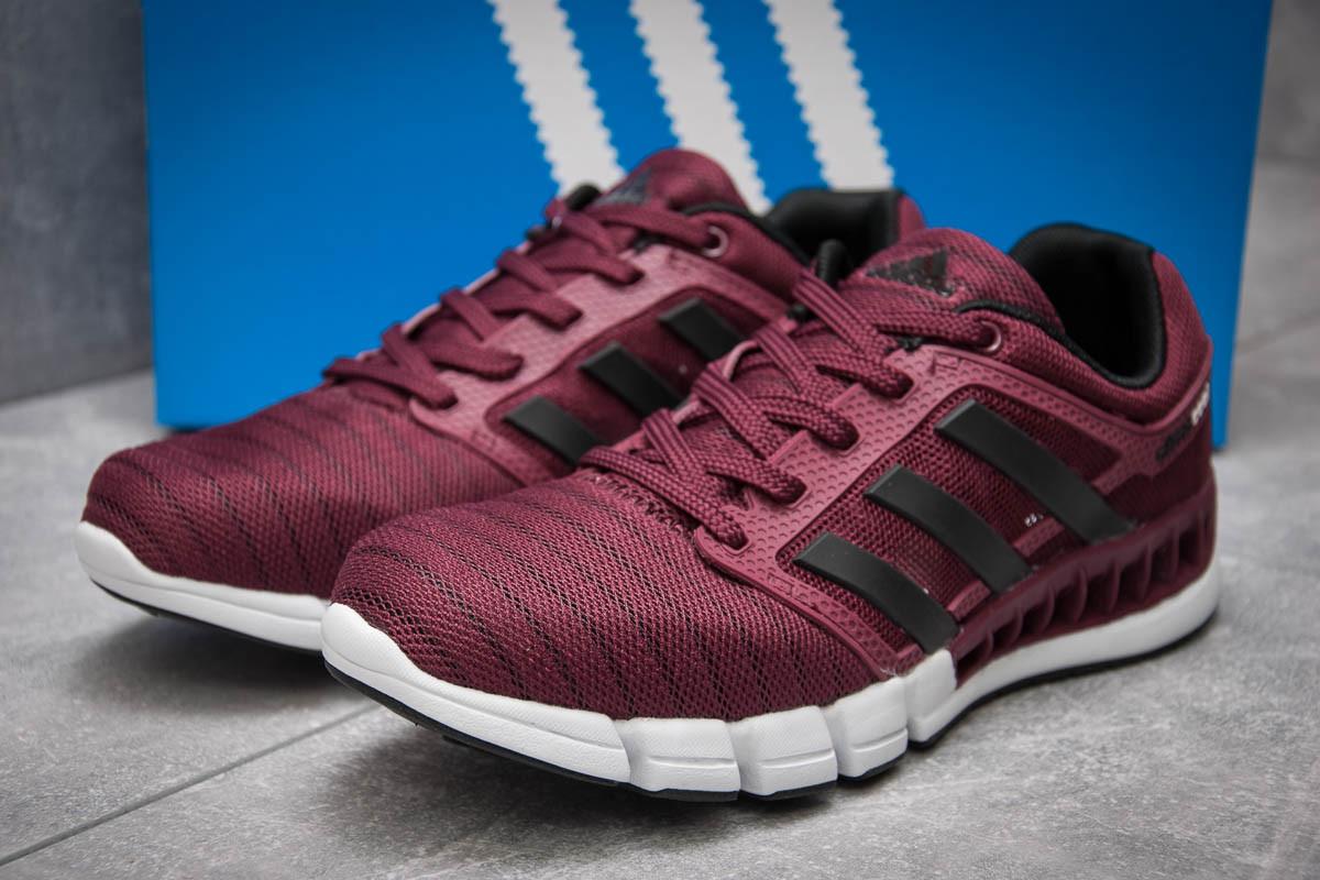Кроссовки мужские в стиле Adidas Climacool, бордовые (13086),  [  43 (