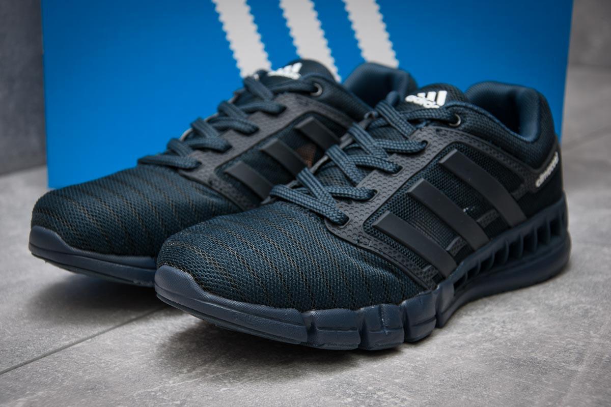 Кроссовки мужские в стиле Adidas Climacool, темно-синий (13087),  [  4