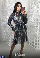 Платье S-2146 (42-44) — купить Платья оптом и в розницу в одессе 7км