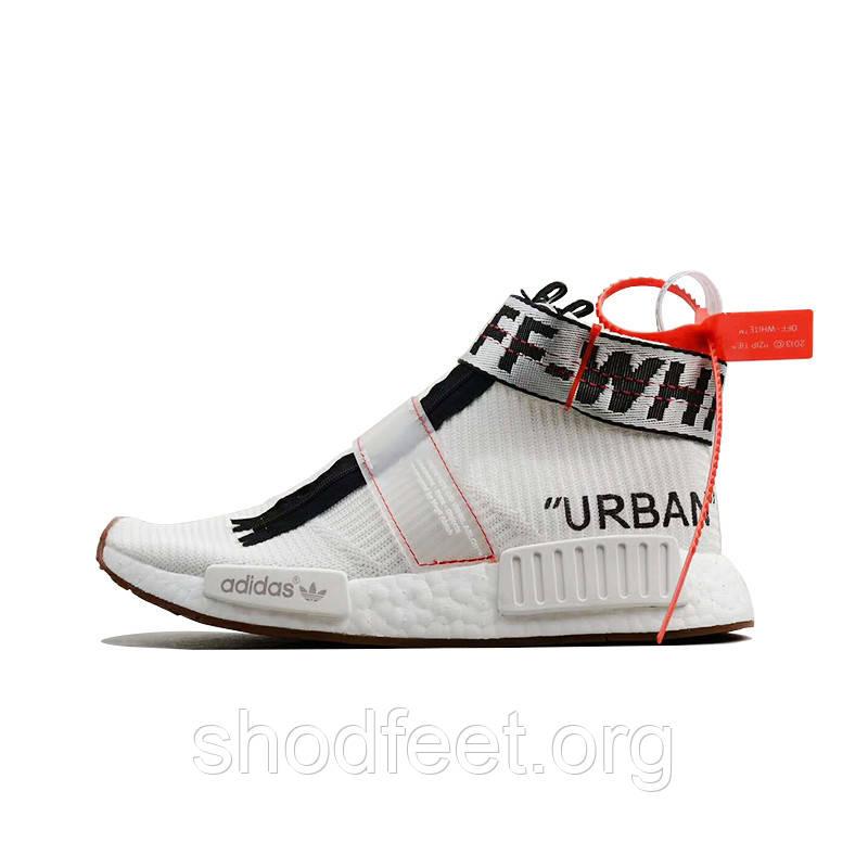 fa7226554edf6 Мужские кроссовки Off-White x Adidas NMD City Sock   продажа