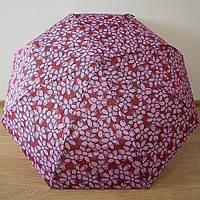 Стильный женский зонт автомат цветы 3721/3