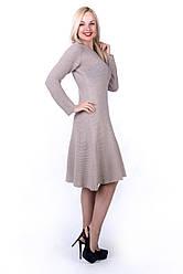 Платье  Агата хлопок с длинным рукавом