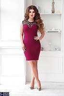 Платье S-2222 (48-50, 52-54) — купить Платья XL+ оптом и в розницу в одессе 7км
