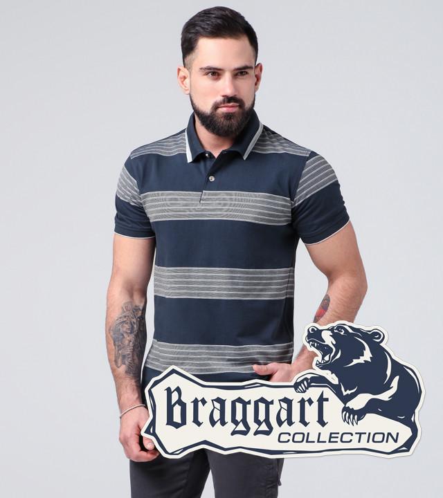 Braggart   Рубашка поло 6683 синий