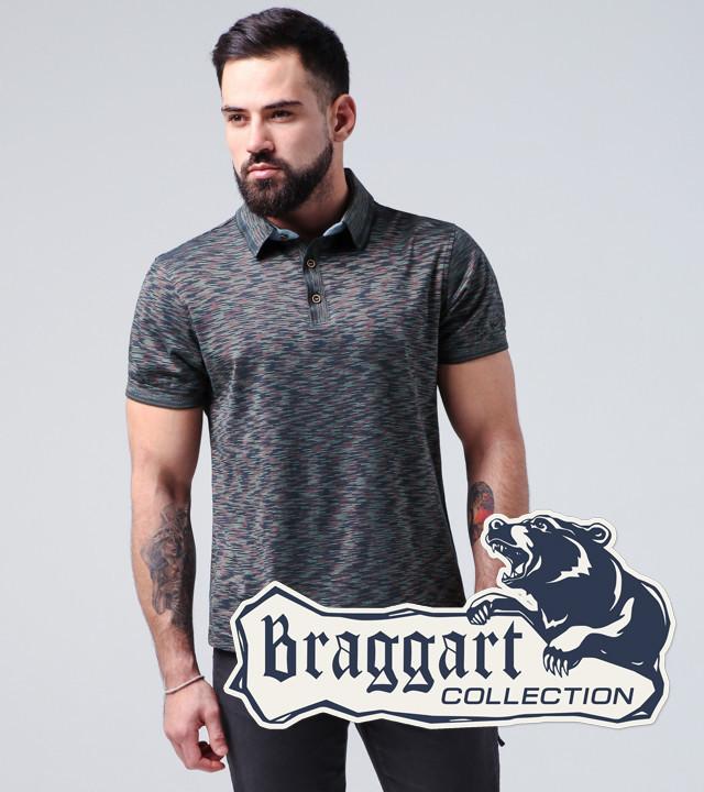 Braggart | Тенниска мужская 6658 синий