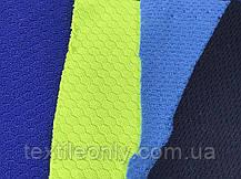 Трикотаж Сетка спорт цвет голубой, фото 3