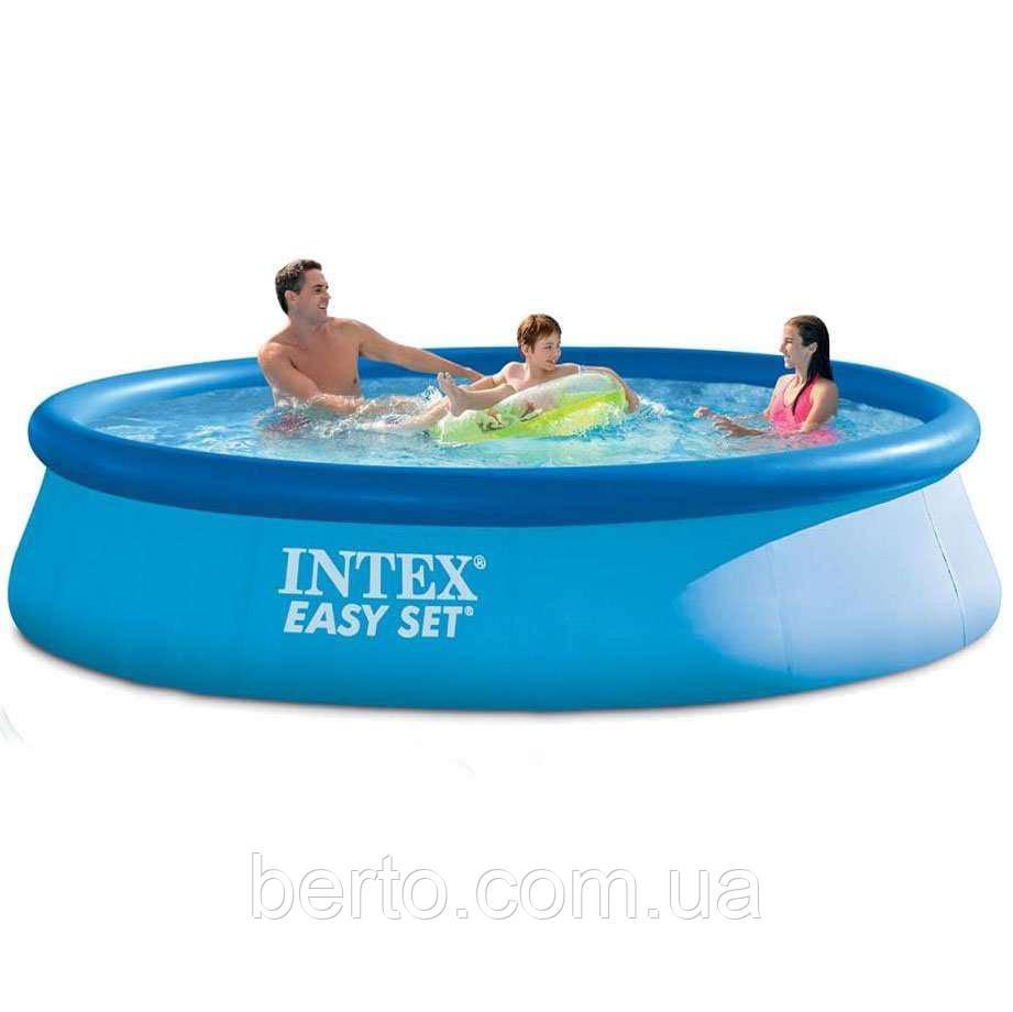 Надувной бассейн Intex 28143 396 х 84 см.