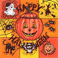 Декупажная салфетка Хеллоуин