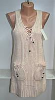 Женская теплая жилетка ангора , фото 1