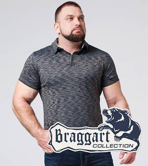 Braggart | Тенниска большого размера 6658-1 синий, фото 2