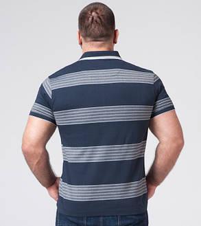 Braggart | Рубашка поло большого размера 6683-1 синий, фото 2