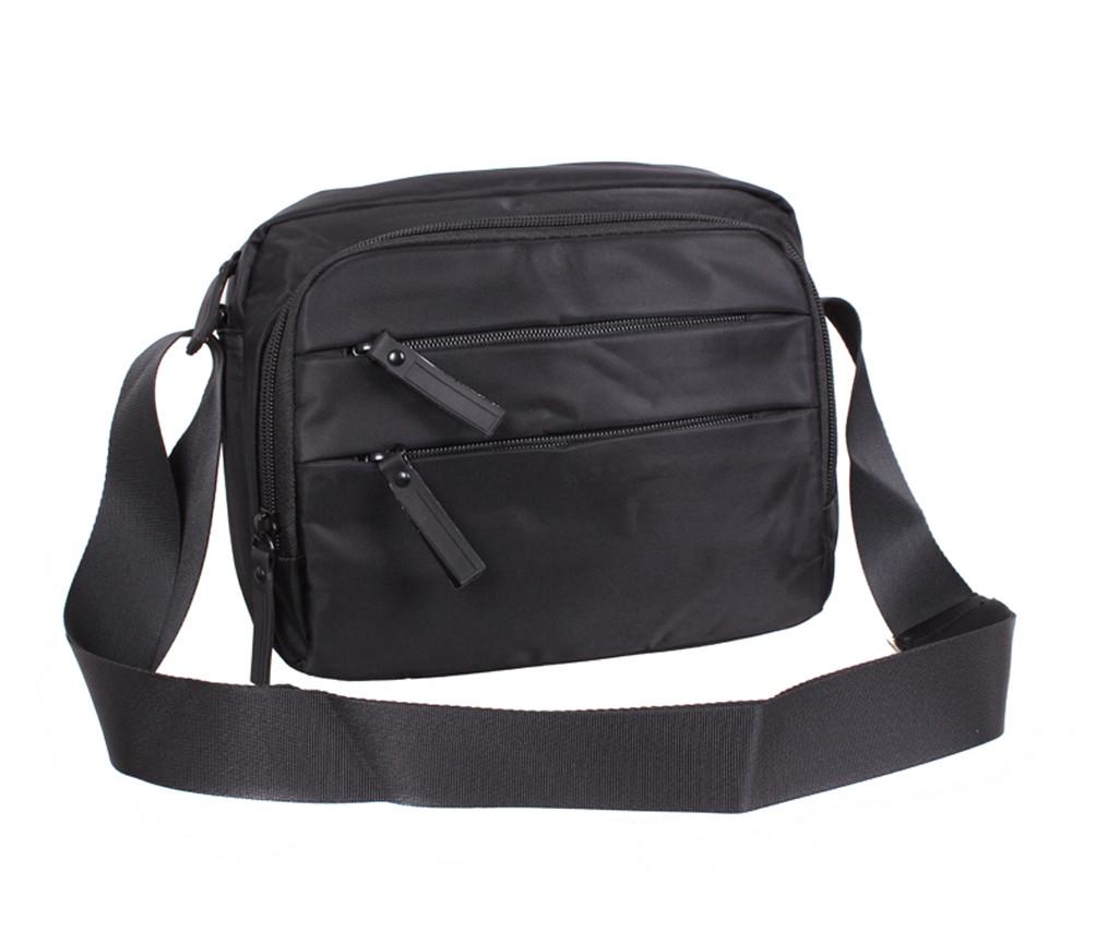 Мужская текстильная сумка XL6338-33PBLACK черная