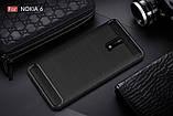 Чехол PRIMO Carbon Fiber Series для Nokia 6 - Black, фото 5
