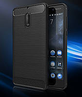 Чехол PRIMO Carbon Fiber Series для Nokia 6 - Black