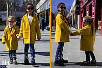 Пальто S-2483 (116-122, 128-134, 104-110) — купить Детская одежда оптом и в розницу в одессе 7км