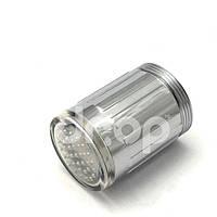 Водосберегающая LED насадка-аэратор на кран с подсветкой 1 цвет (синий) , фото 1