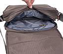 Мужская текстильная сумка XXL8311B-GREY серия, фото 7