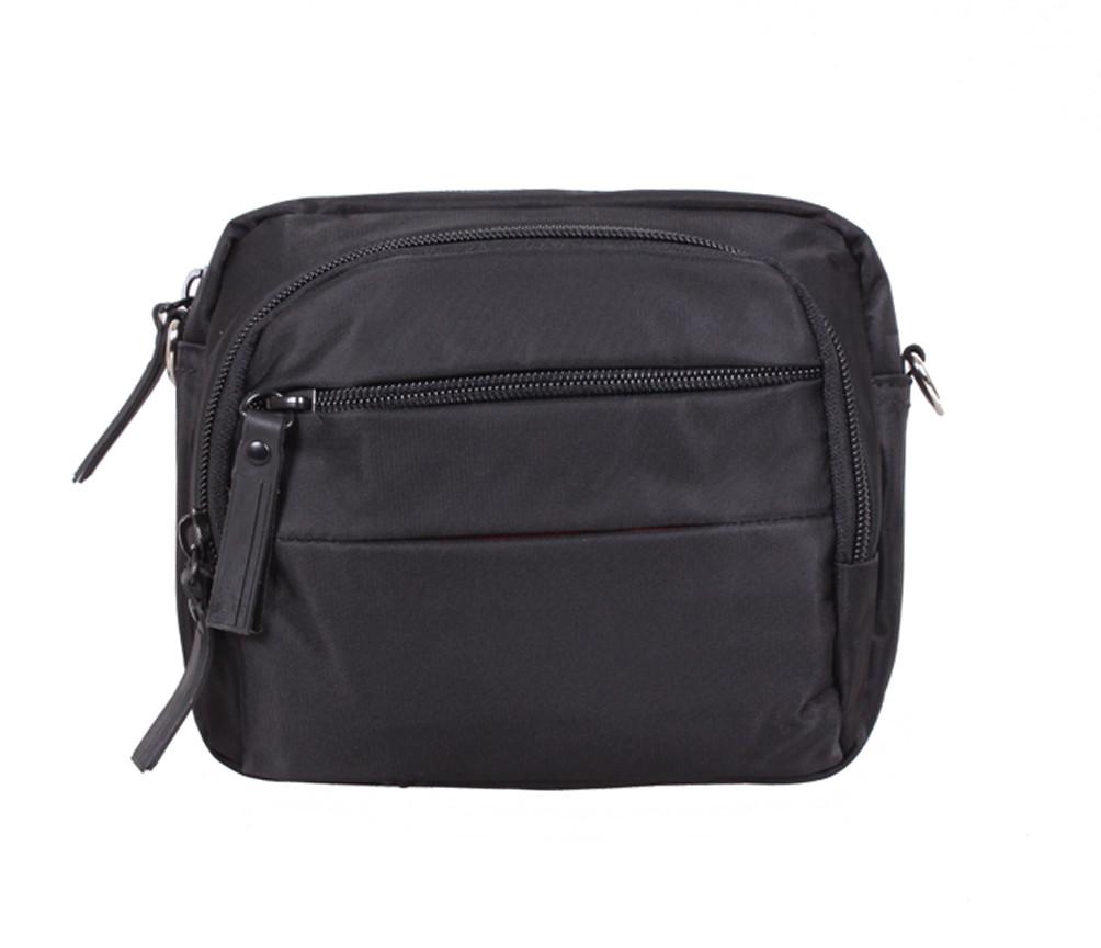 Мужская текстильная сумка SP6338-11BL черная